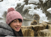 長野県の有名観光スポット『地獄谷野猿公苑』